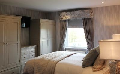bedroom interior design by Edel Mullan
